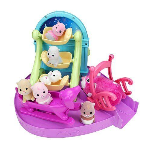 Zhu Zhu Pets Baby Activity Playset - Triplet Bedroom by Cepia. $13.26. Zhu Zhu Babiess Triplet Playset. Babies Sold Separetly. ZhuZhu Babies™Play sets are the place to be when you're a baby has energy!  games, story time and friends…the fun. At daycare never ends! ZhuZhu Babies™ Gym is full of fun for each and every baby Zhu!  Slip down slides, run in wheels, crawl through tunnels…there's so much to  do!. Save 34%!