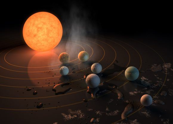 Huge News, Seven Earth-Sized Worlds Orbiting a Red Dwarf, Three in the Habitable Zone - Universe Today