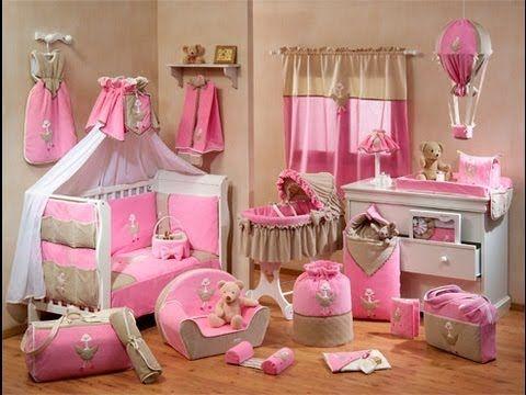 Decoracion de cuartos Pequeños para Niñas recien nacidas - Como ...