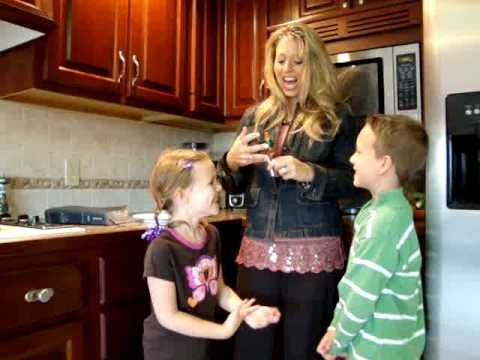 Watch What You Say - Teaching James 3 to my children using hot sauce and tooth paste.