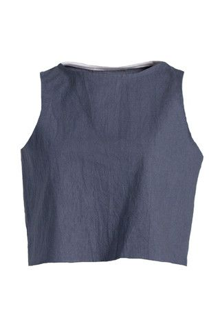 Cropped Tank - Solid Colour