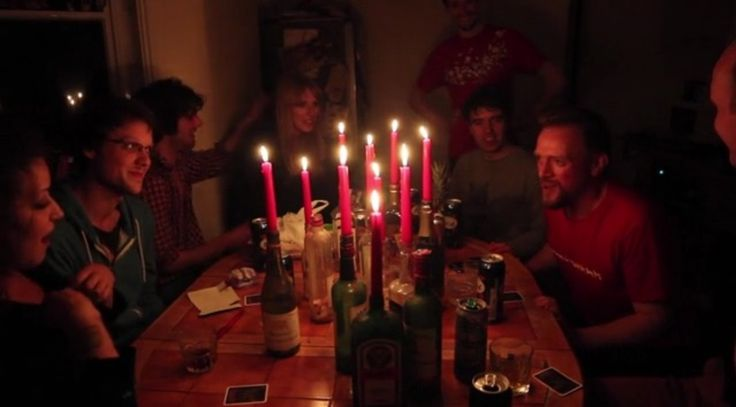 Ultimate Werewolf Card Game - sounds like a wonderful halloweeny party game! :)