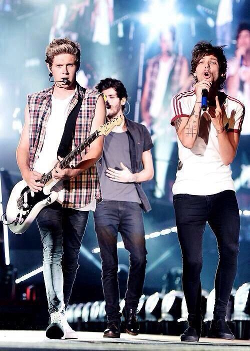This is a reallly good picture of them. Niall Horan / Louis Tomlinson / Zayn Malik /One Direction