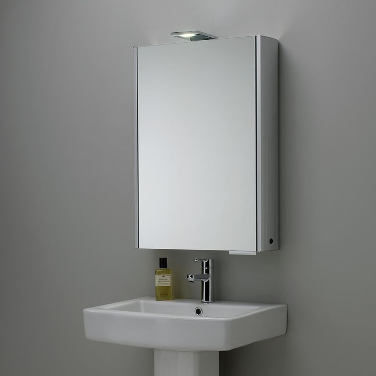 buy roper rhodes fever illuminated single bathroom cabinet with doublesided mirror john lewis