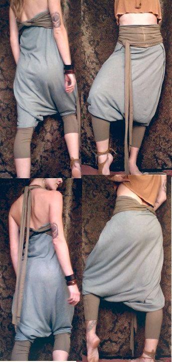 Harem Hose / Strampler. Bio-Baumwolle / Hanf von RunWithTheTribe