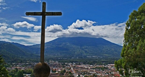 Guía Turística - Cerro de la Candelaria, Mirador de la Cruz, La Antigua Guatemala l Sólo lo mejor de Guatemala