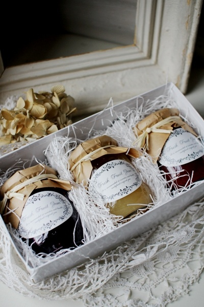 Jams - nice packaging and presentation.
