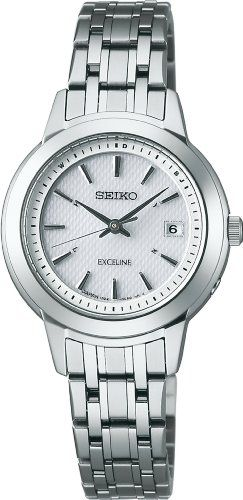 SEIKO EXCELINE (SWCW063) Titanium Solar Radio WOMEN'S WATCH >>> Check out this great product.