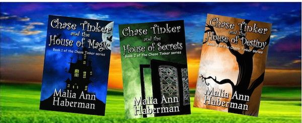 Guest Author Malia Ann Haberman and how 'The Chase Tinker' Series began.