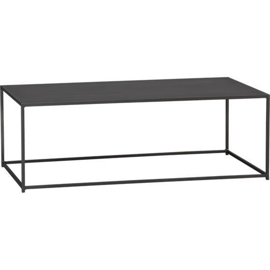 Mill Coffee Table Milling Coffee And Skinny Console Table