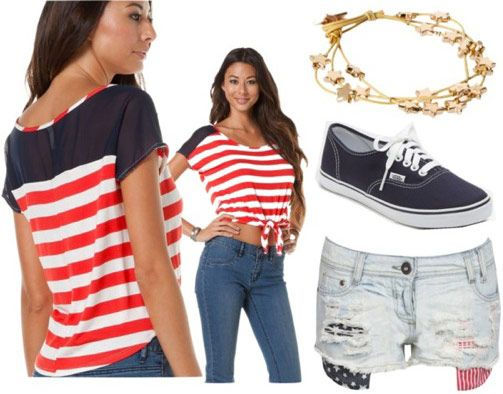 fourth of july clothing ideas