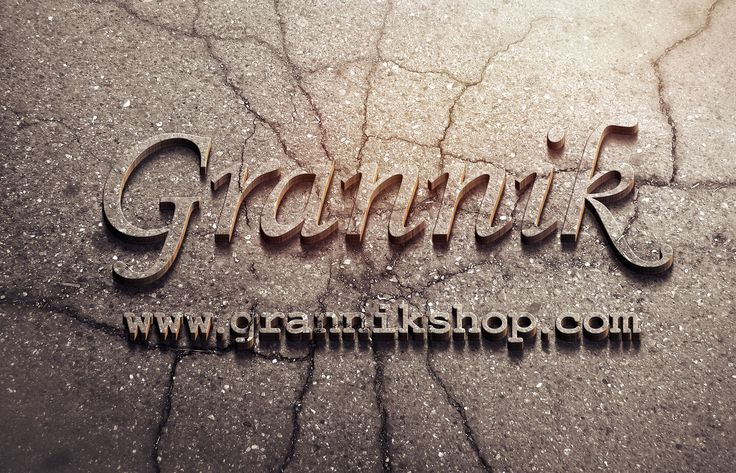 egaevans: create your name,logo, or your text into 3D Concrete design for $5, on fiverr.com