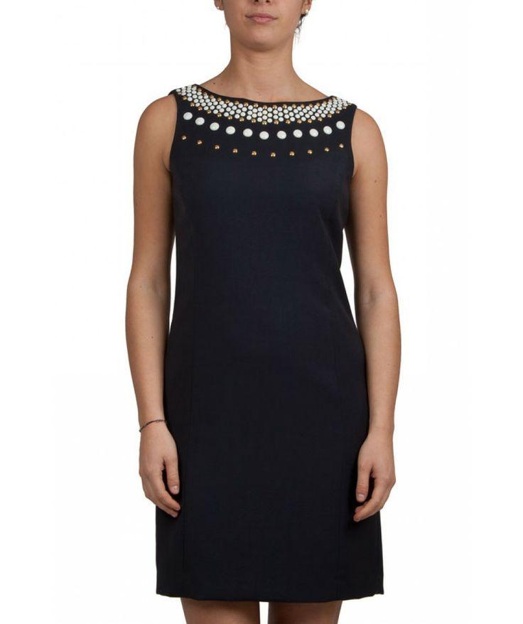 Groppetti Luxury Store - Abito Girocollo con Borchie - Michael Kors Woman Collection Spring Summer 2014 #michaelkors #woman #fashion