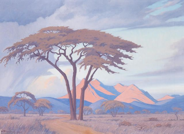Jacob Hendrik Pierneef (South African, 1886-1957) Tabazimbi, Rustenburg