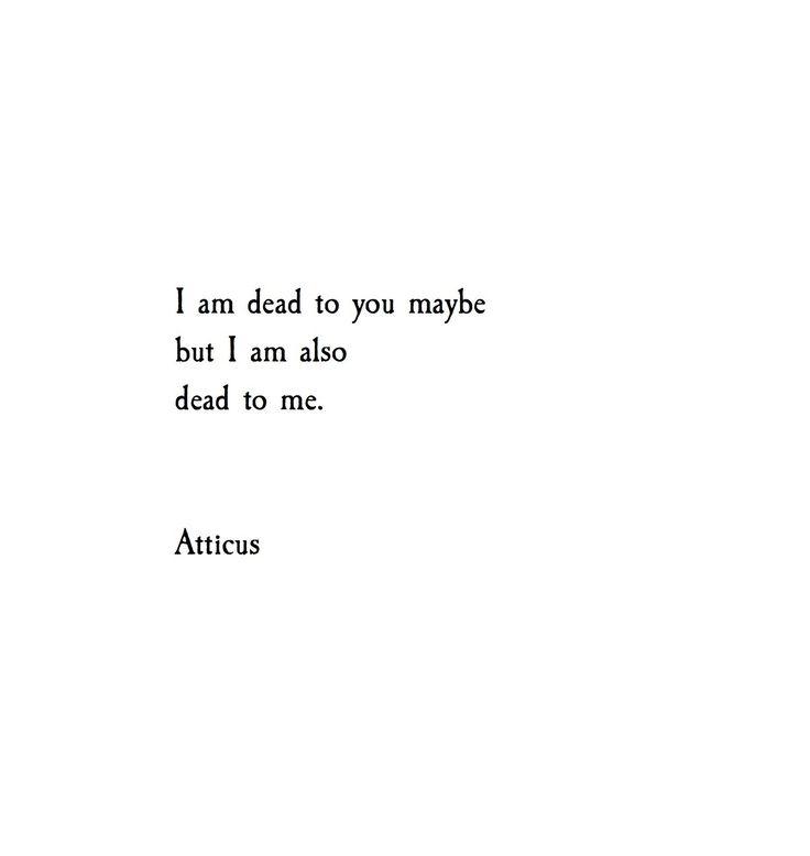 'To Me' @Atticuspoetry #Atticuspoetry
