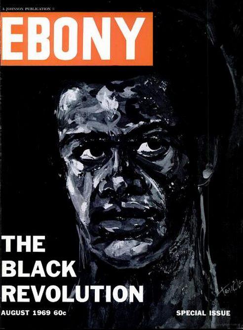 Ebony Magazine Cover, 1970s
