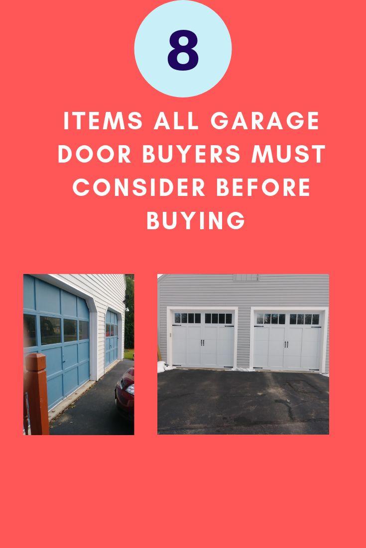 Buy A New Garage Door Repair Or Replace How Long Do Garage Doors Last Aluminum Steel Vinyl Which Door Garage Door Springs Garage Doors Garage Door Design