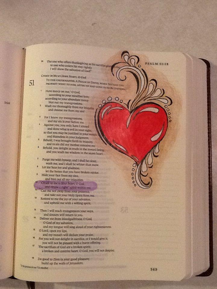 my Bible, borrowed design /found on Sherrie Bronniman Art Journaling in My Bible