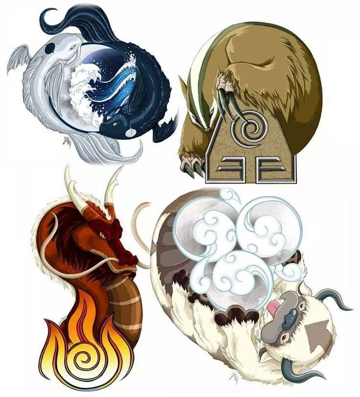The Original Benders Avatar Korra