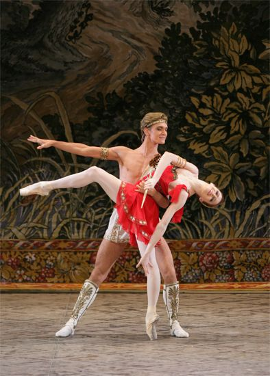 Ekaterina Krysanova, Principal at the Bolshoi. Esmeralda. Pas dedeux Diana etActeon.With Vladislav Lantratov.