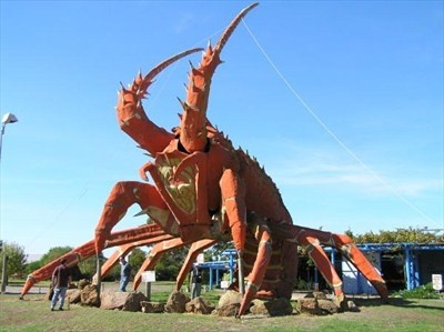 The big lobster is in Kingston, South Australia.