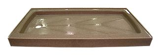 Onyx Collection - Standard Rectangular Shower Bases Pans Tube Replacements