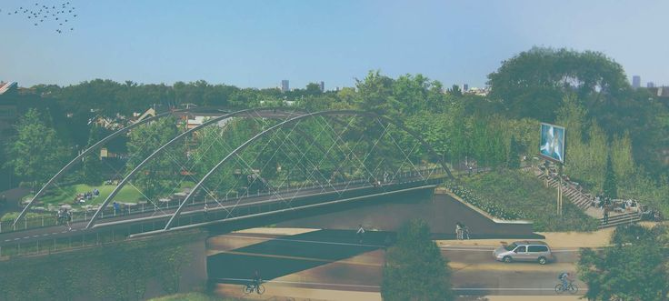 The 606 is Chicago's own version of the Chelsea Highline; it's an old railway that's about 2.7 miles that the City of Chicago is redeveloping into an elevated park system. It opens June 2015!