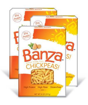 Banza Rotini Chickpea Pasta | When carb cravings strike, it can be hard to find a gluten-free solution. The good news?These picks are every bit as satisfying as their carb-heavy relatives.