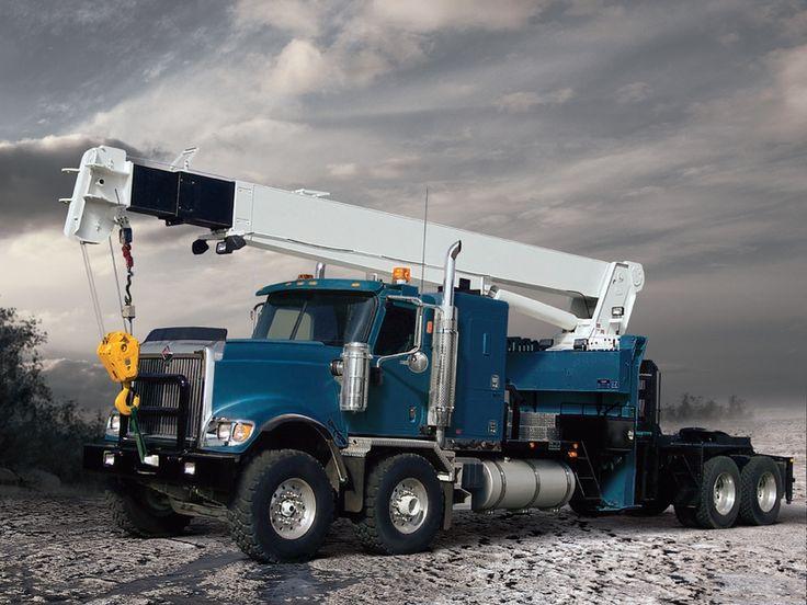 International PayStar 5900 8x4 Crane '2009–н.в.