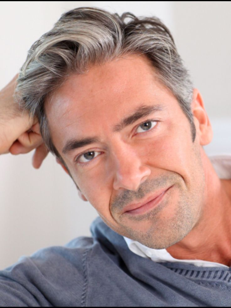 Medium older men hairstyle
