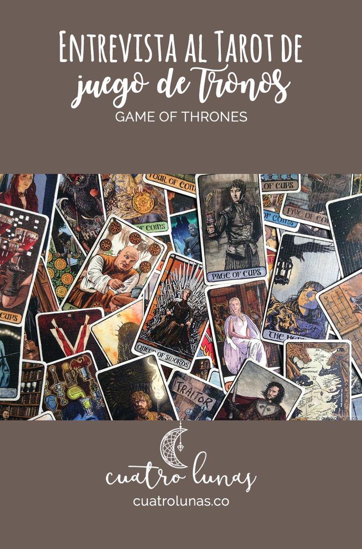 Conoce el Tarot basado en la popular serie de HBO, Juego de Tronos #GameofThronesTarot