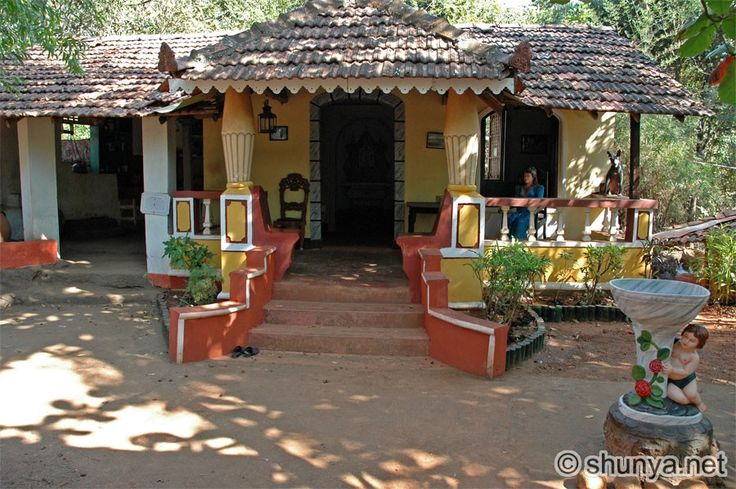 Typical Goan House