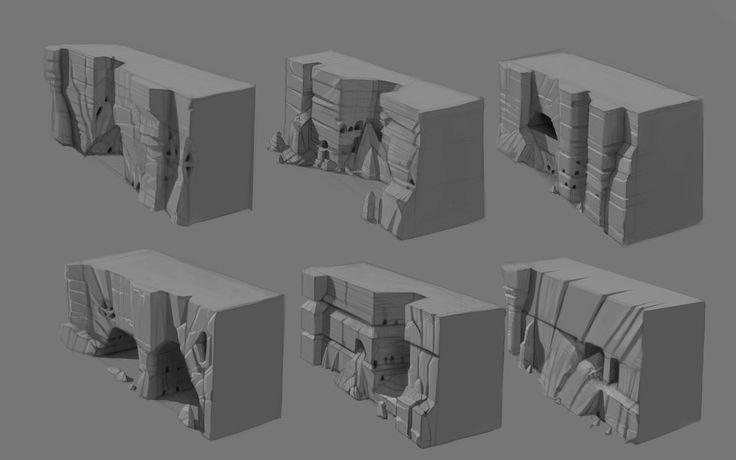 ArtStation - Env Rock Formations Assets, Eitan Daniel