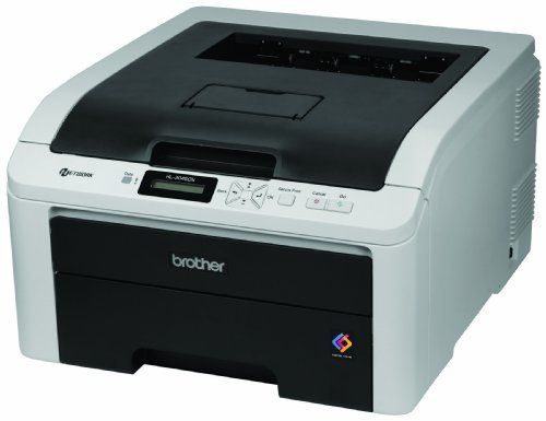Brother Printer HL3045CN Color Printer by Brother. $199.99. The HL-3045CN is a digital color printer that is ideal for home offices or small offices. It produces brilliant, high-quality output at a fast print speed of up to 19ppm in color or black.  This compact printer offers versatile paper handling with a 250-sheet capacity paper tray for letter or legal and a single-sheet manual feed slot for envelopes or thicker media. It has a built-in Ethernet network interface for s...