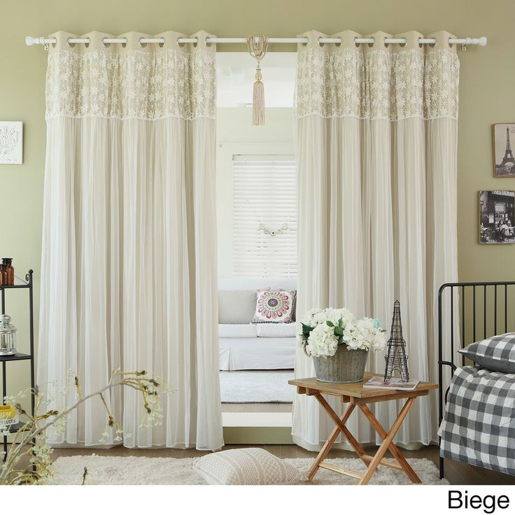 16 Best Sheer Kitchen Curtains Images On Pinterest