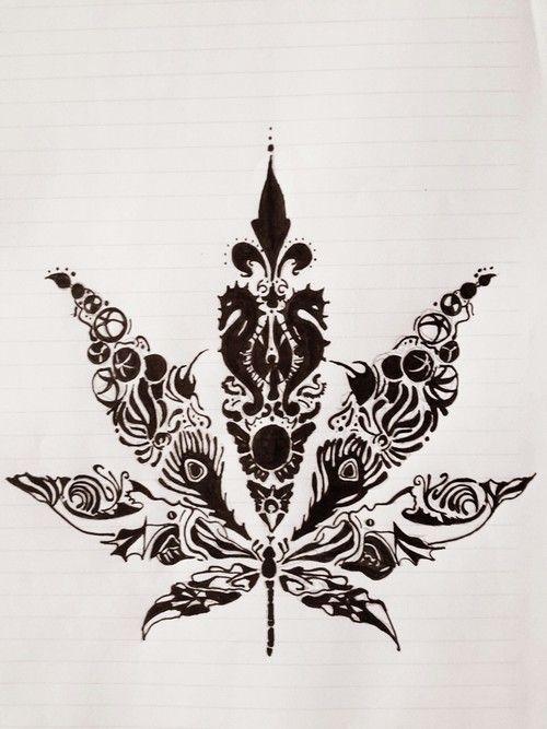 Mehndi Wrist Joint : Best weed henna tattoo images on pinterest cannabis