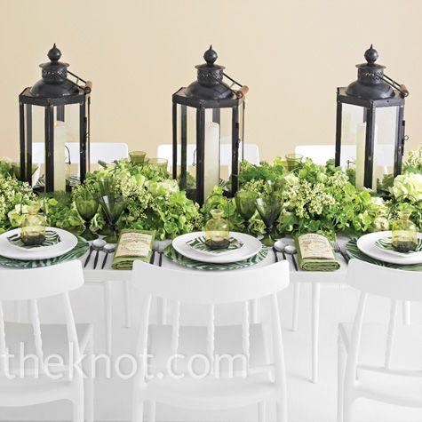 Lantern Table Centerpieces