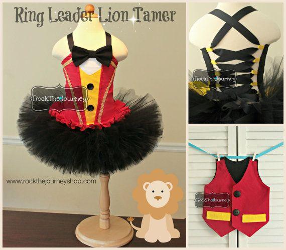 Ring Leader Tuxedo Vest Lion Tamer Master por RockTheJourney