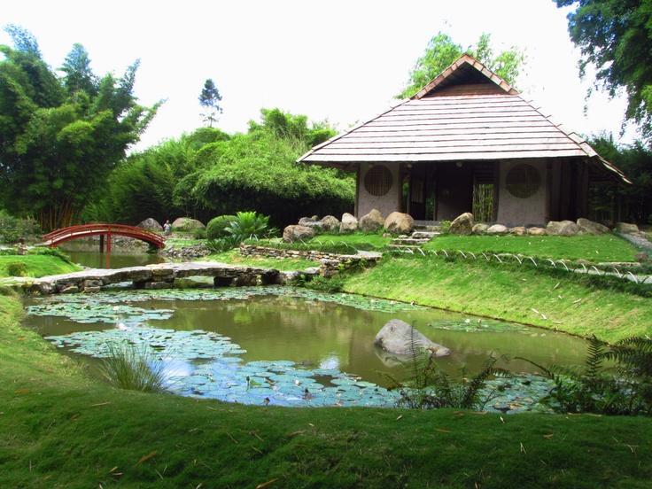 Peque o lago con jard n japones me encanta en busca de - Jardin japones pequeno ...