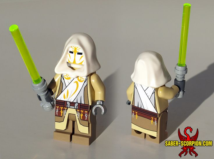 Star Wars: The Clone Wars Jedi Temple Guard Custom LEGO Minifig Visit my shop!: http://www.saber-scorpion.com/shop