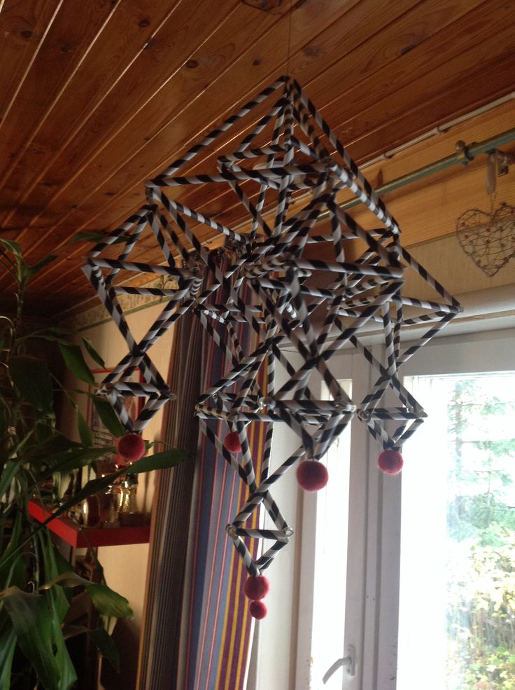 Paper straw craft