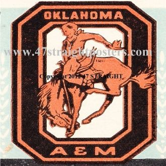 Oklahoma State football ticket coasters, Oklahoma State football gifts made from authentic vintage OSU football tickets like this 1942 ticket. http://www.osufootballgifts.com/ OSU football gifts by 47 STRAIGHT™