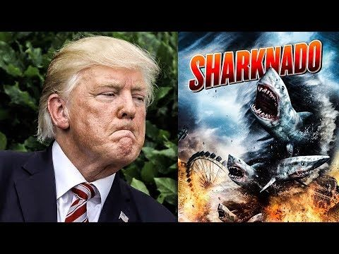 """Trump Threatened To Sue Filmmakers If He Didn't Get To Play The President In """"Sharknado 3"""" - YouTube"""