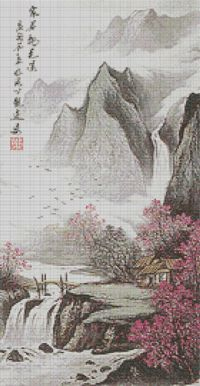 Tranquil Valley cross stitch kits