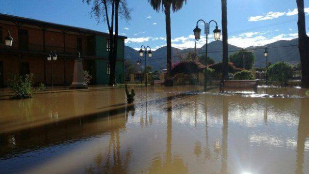 Universidad de Atacama despues de la salida del río13/05/2017 - 10:55