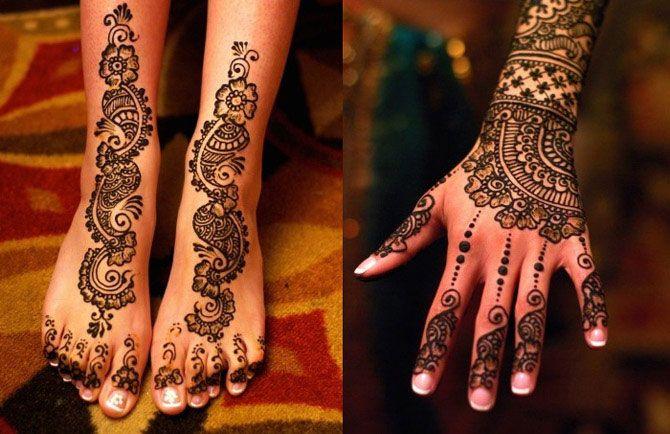 Невероятные татуировки хной: 15 авторских идей