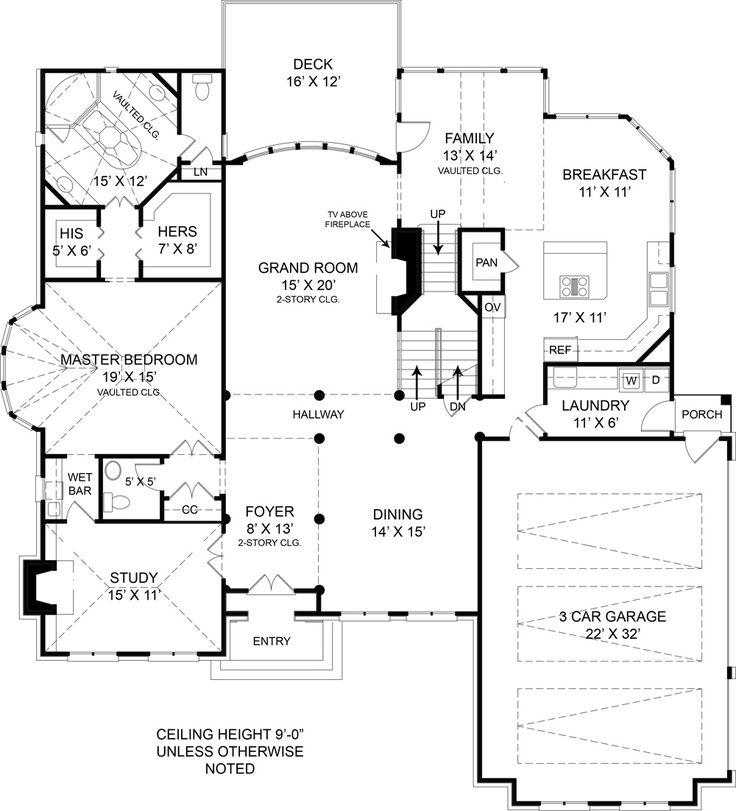 Gallery One Westover House Plan Master Bathroom PlansLuxury