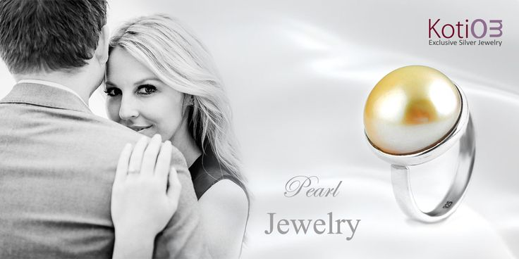 """A Pearl, that can add more Sweetness in Your Relationship""  Enjoy the Sterling silver Pearl Jewelry Collection with Custom Design Offer  #pearl #jewelry #fashion #stylish #style #newdesign #women #girl #couple #beloved #love #life #happy"