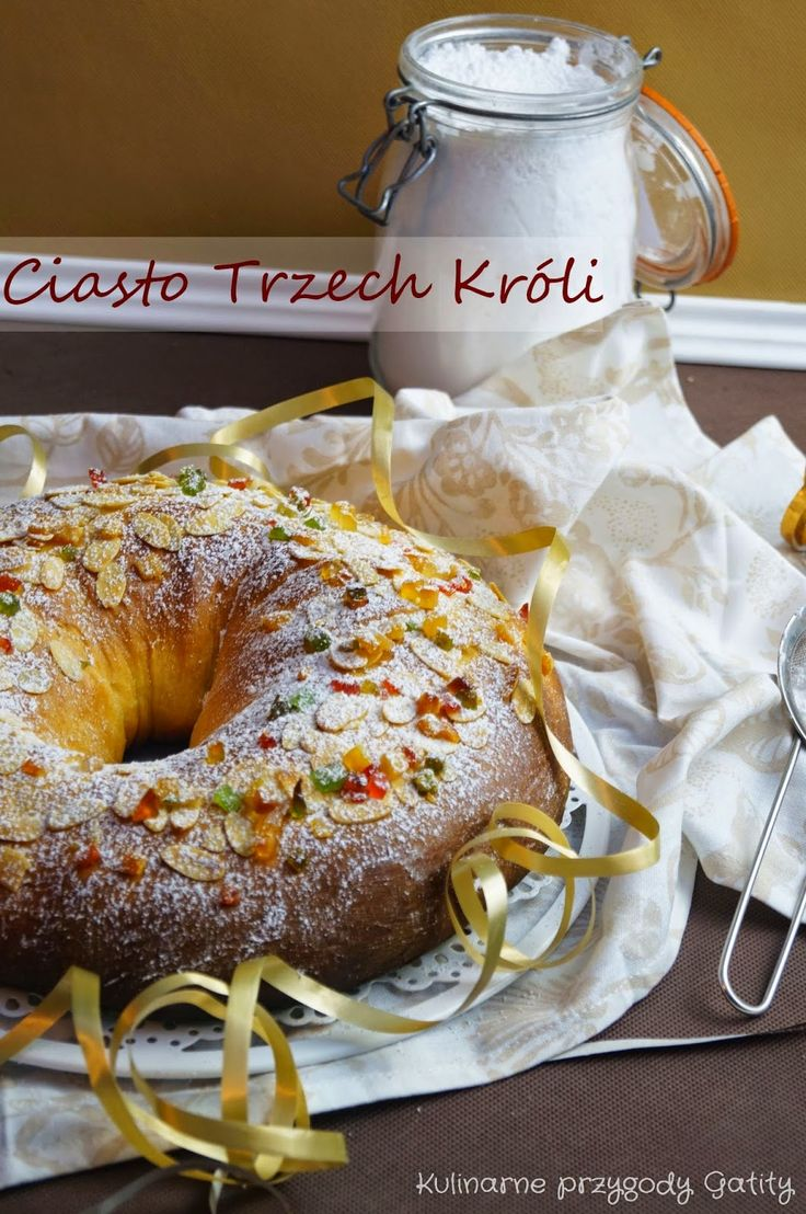 Kulinarne przygody Gatity: Roscón de Reyes Magos, czyli hiszpańskie ciasto Tr...