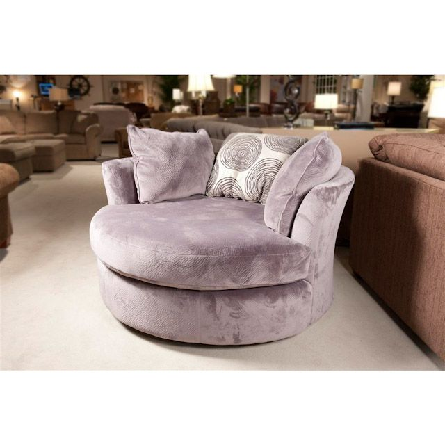 groovy swivel chair big comfy